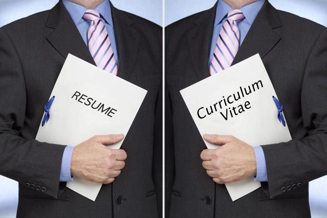 Curriculum Vitae Is A Static Text That Does No Change For Different Jobs,  Whereas You Have To Change Your Resume And The Skills Mentioned In It For  Every ...