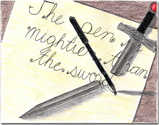 pen is better than sword