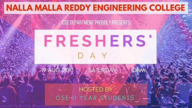 freshers day speech on behalf of freshers
